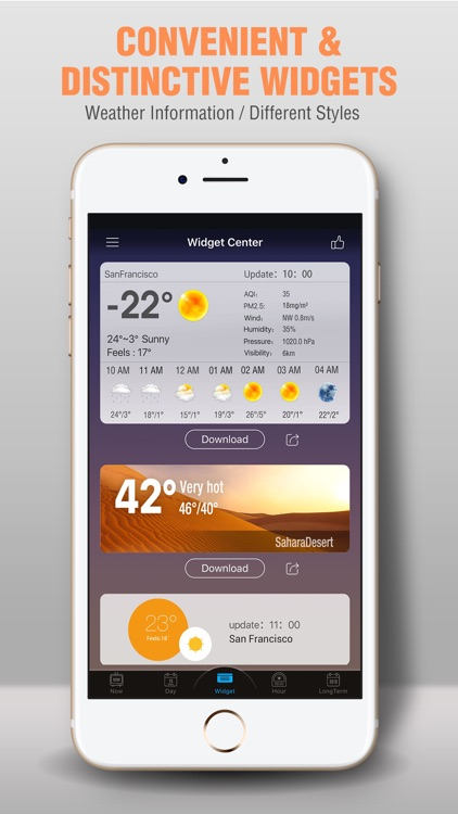 Amber Weather AQI Forecast screenshot-3