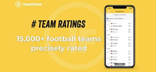 TeamForm: Football Predictions on the App Store