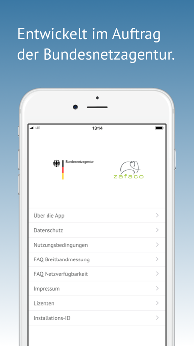 Screenshot for Breitbandmessung in Germany App Store