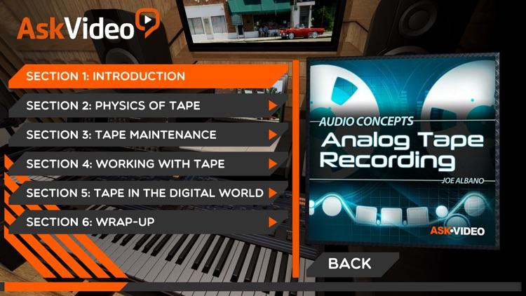 Analog Tape Course By AV