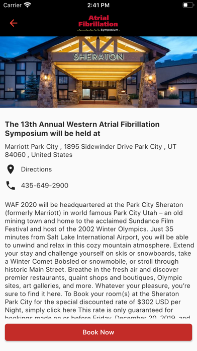WesternAF Symposium screenshot 5