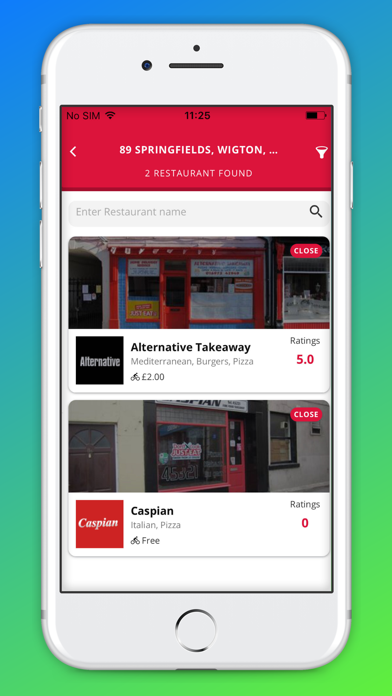 Lets Eat: Food Delivery screenshot two