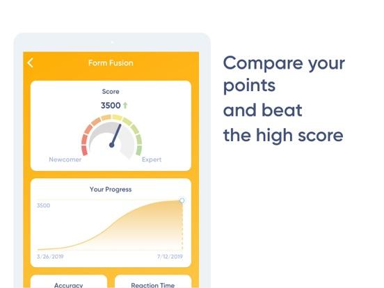 NeuroNation - Brain Training iPad app afbeelding 8