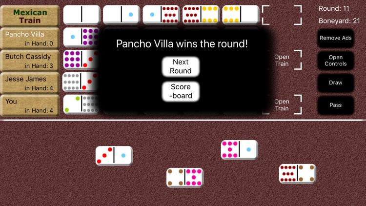 Mexican Train Dominoes screenshot-3
