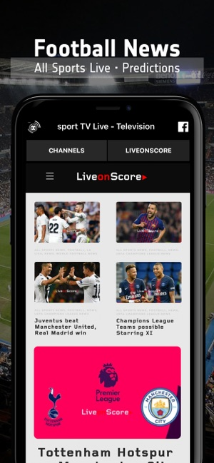 sport TV Live - Television on the App Store