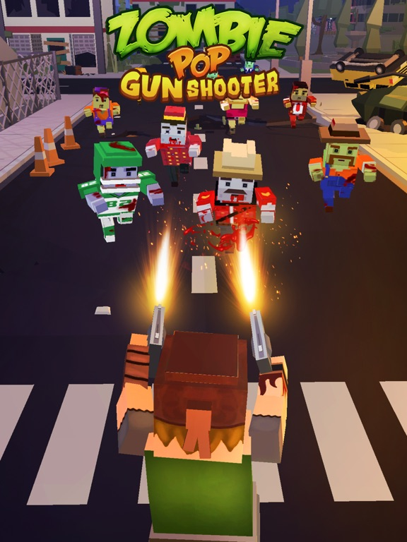 Zombie Pop : Gun Shooter screenshot 5