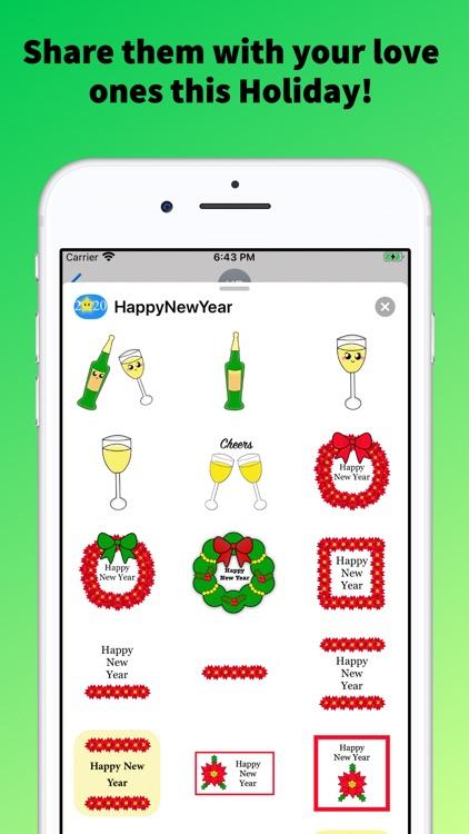 Happy New Year Emoji Stickers! screenshot-3