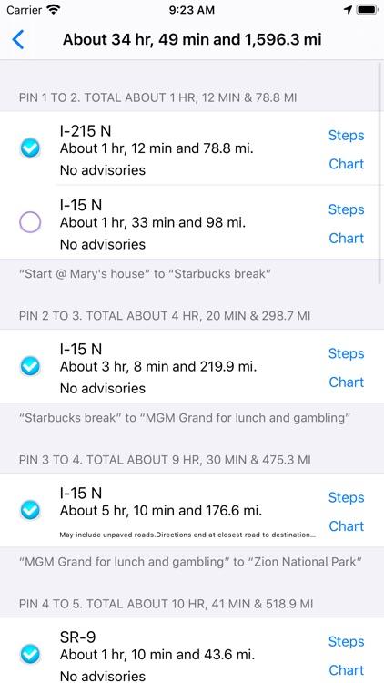 Road Trip Planner Viewer screenshot-6
