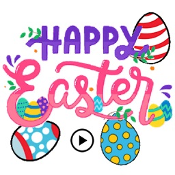 Animated Easter Sticker