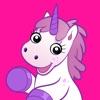 Fluffy Unicorn - Animated