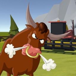 Bulls Rodeo: Escape Animals