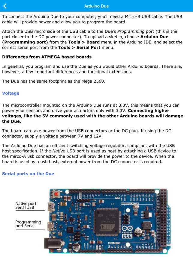 Arduino Pocket Reference on the App Store
