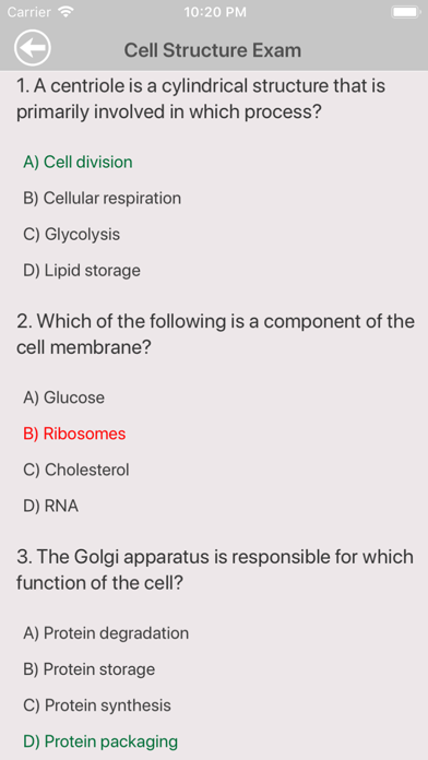 High School Biology Trivia for windows pc