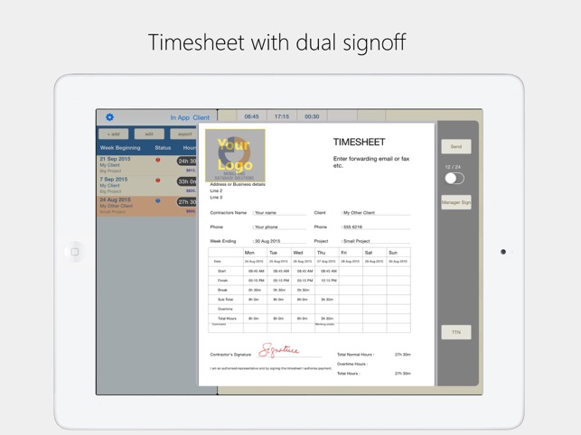 Timesheet Plus on the App Store