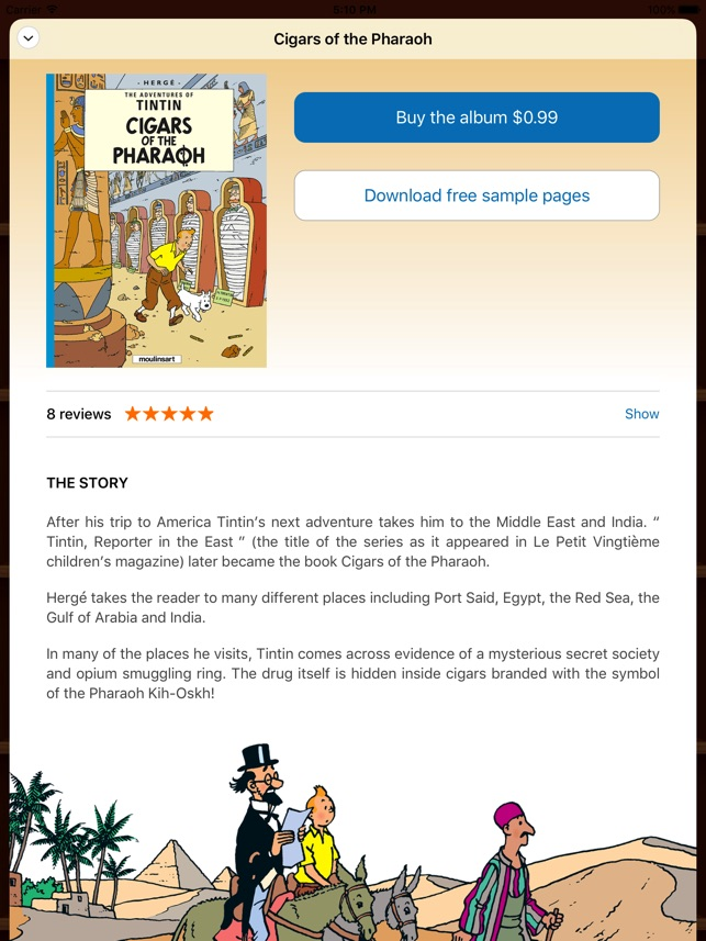 The Adventures of Tintin on the App Store