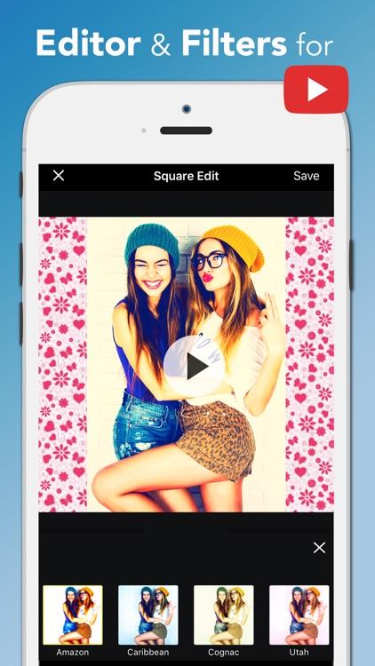 Square Edit Photo Video Editor