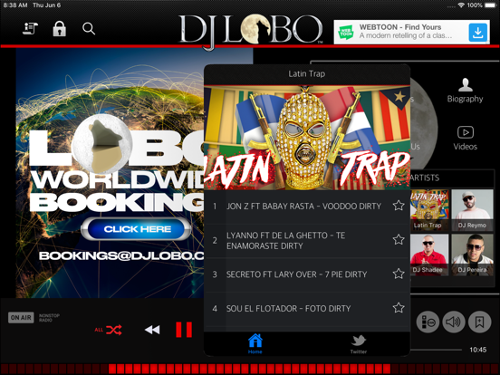 DJ Lobo screenshot
