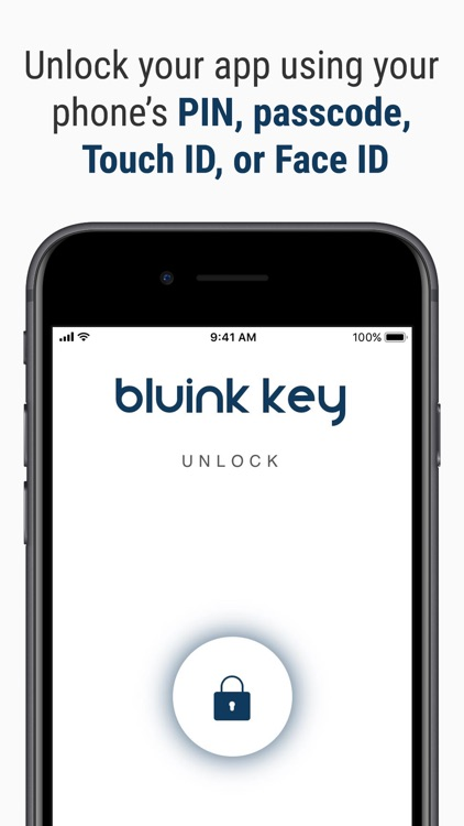 Bluink Key - Password Manager