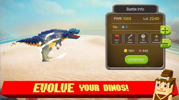 Jurassic Pixel Dinosaur Craft screenshot-3