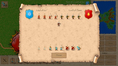 Screenshot #2 pour Warlords Classic Strategy