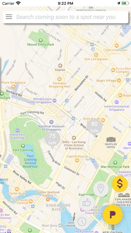 SPOT: Find your parking spot