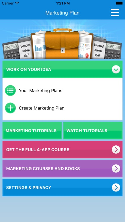 Marketing Plan & Strategy screenshot-0