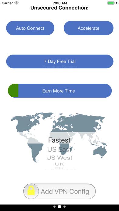 Dash VPN Browser Screenshot
