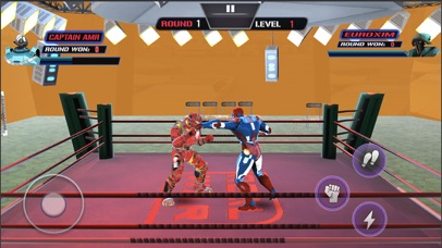 Robot Hero Ring Fighting