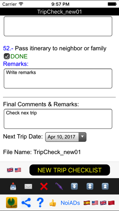 Easy Trip Checklist screenshot four