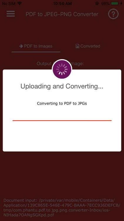 Convert PDF to JPG,PDF to PNG