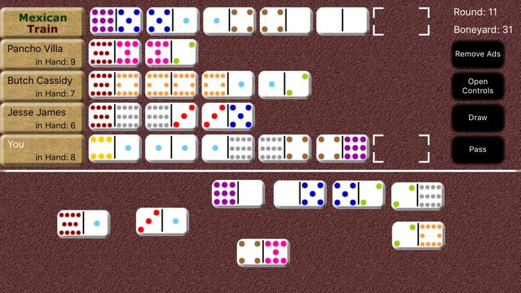 Mexican Train Dominoes screenshot-7