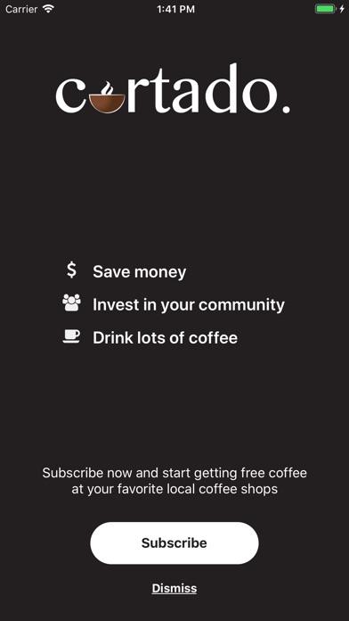 Cortado App screenshot #2