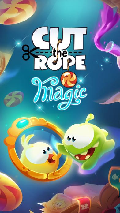 Скриншот №1 к Cut the Rope Magic