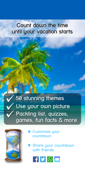 Vacation Countdown App on the App Store