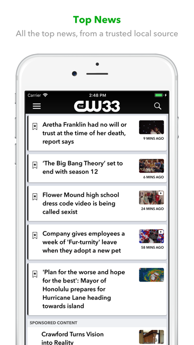Screenshot for CW 33 in Mexico App Store