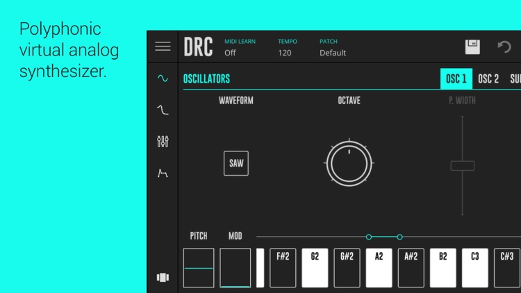 DRC - Polyphonic Synthesizer