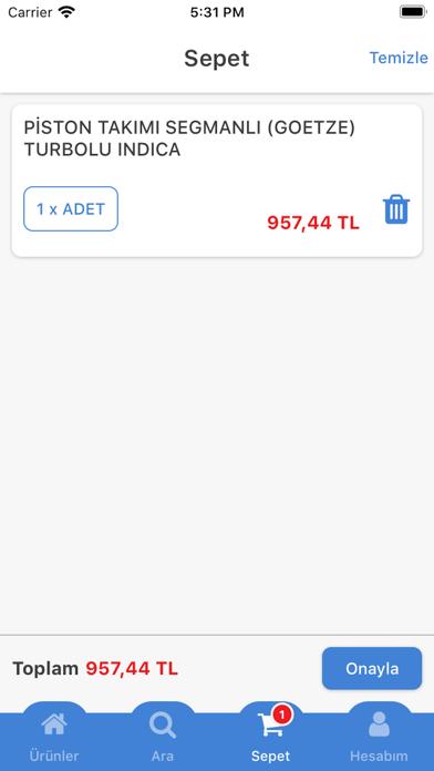 Alacan Otomotiv Screenshot