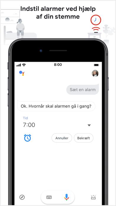 Screenshot for Google Assistent in Denmark App Store