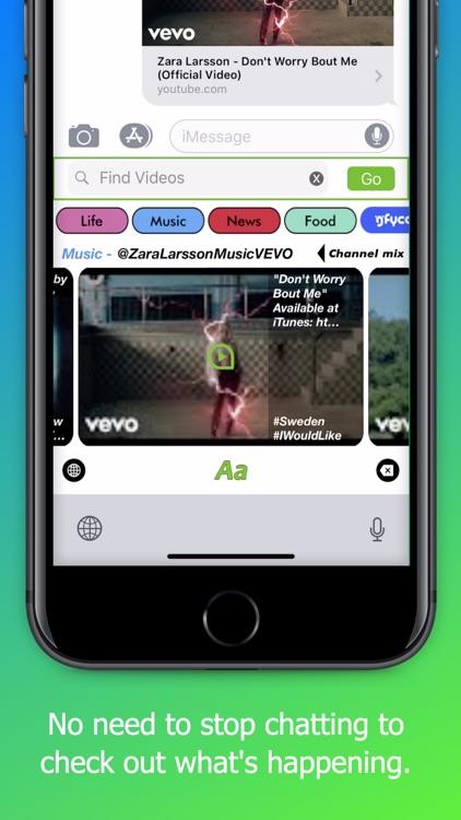 VBoard. The Videos Keyboard. screenshot-5