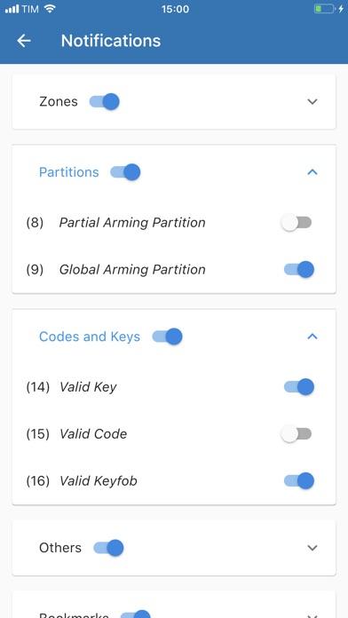 Bentel security absoluta pro app report on mobile action for Bentel security absoluta