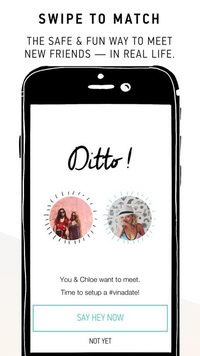 Hey! VINA - Meet New Friends Screenshot on iOS