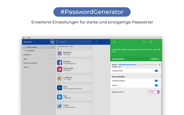 ‎Enpass - Password Manager Screenshot
