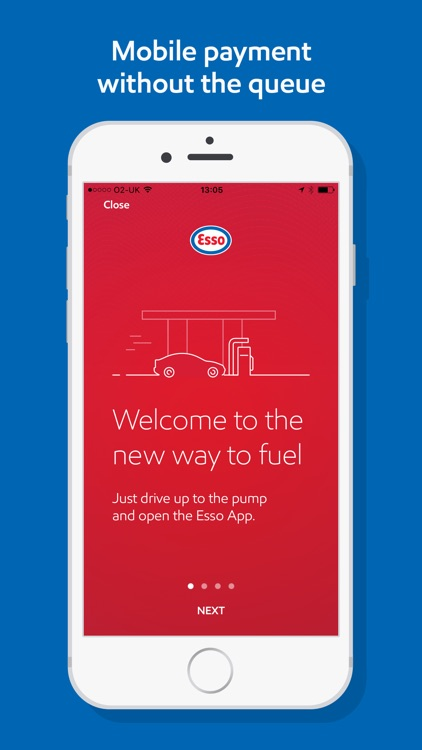 Esso: Pay for fuel, get points