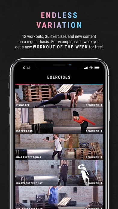 HIIT the Beat by Breakletics screenshot three