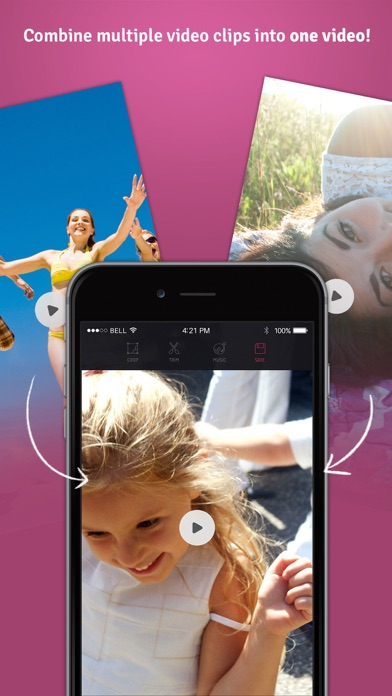 Combine Vid: Join Video Clips