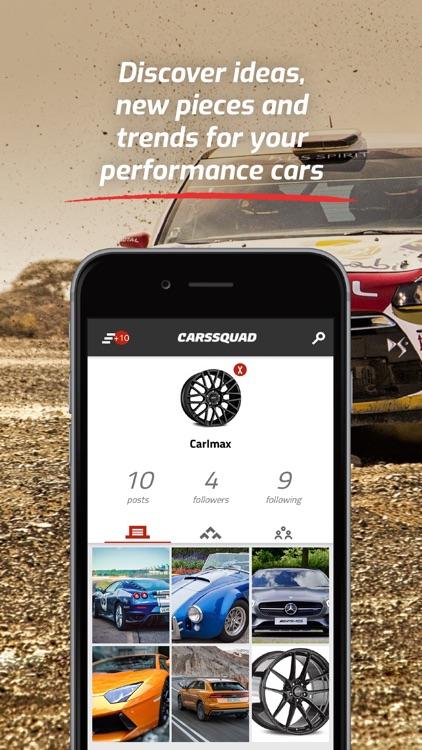 CarsSquad: Social network cars screenshot-4