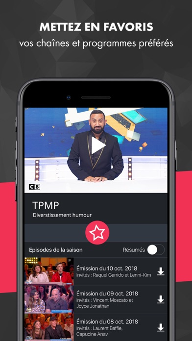 download myCANAL apps 5