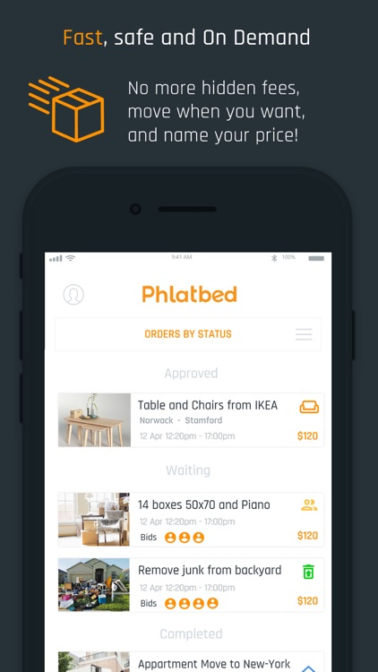 Phlatbed: Moving and Delivery screenshot-4