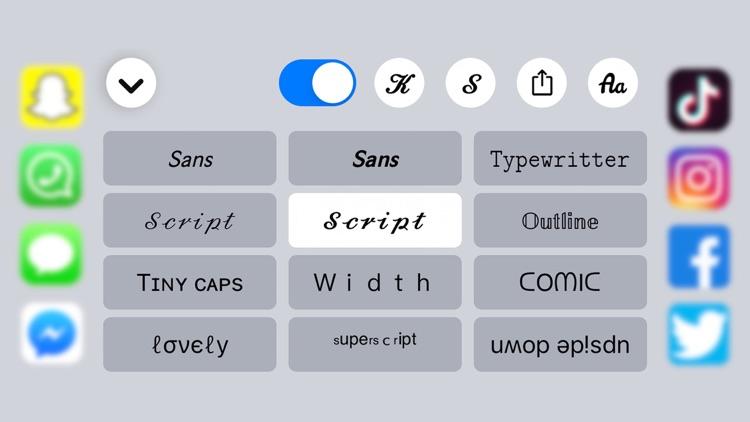 Fonts for iPhones + : Fonts+ screenshot-4
