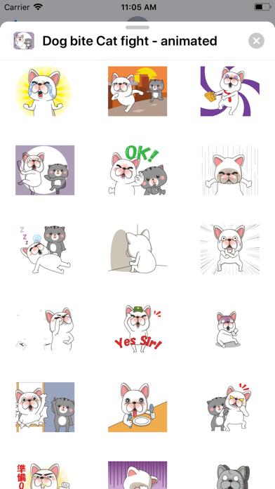 Dog bite Cat fight - animated screenshot 4